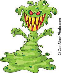 straszliwy, potwór