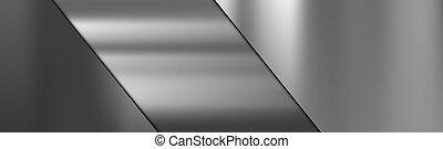 struktura, metal, stal, cięty, nachylenie