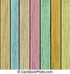 struktura, pastel, stary, drewniany, tony