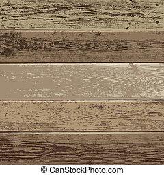struktura, tło, drewno, brązowy