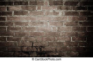 struktura, tło, stary, ściana, cegła
