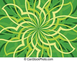 struktura, zielony, artystyczny, tło