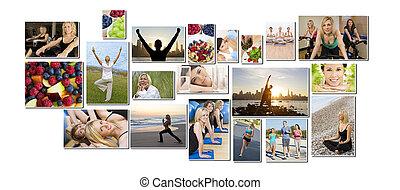 &, styl życia, ludzie, zdrowy, mężczyźni, ruch, kobiety