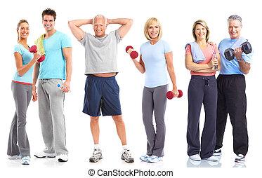 styl życia, stosowność, sala gimnastyczna, zdrowy