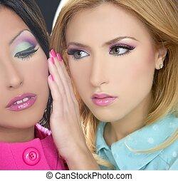 styl, fahion, barbie, makijaż, lalka, 1980s, kobiety