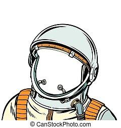 suit., astronauta, przestrzeń