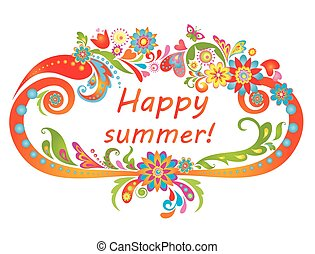 summer!, szczęśliwy