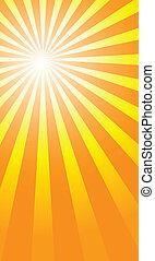 sunburst, tła