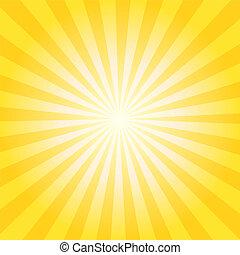 sunburst, tło