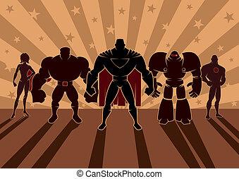 superhero, drużyna