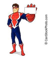 superhero, przyjacielski, identyczność