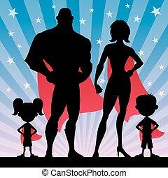 superhero, rodzina