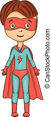 superhero, rysunek