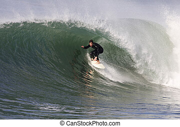 surfing, machać
