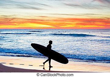 surfing, portugalia