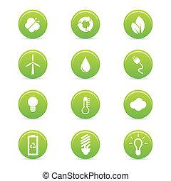 sustainability, ikony