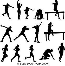 sylwetka, atletyka