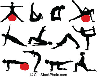 sylwetka, pilates