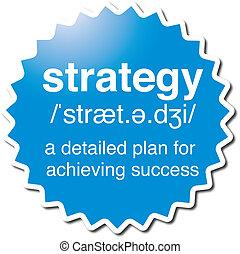 symbol, strategia