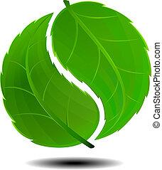 symbol, zielony