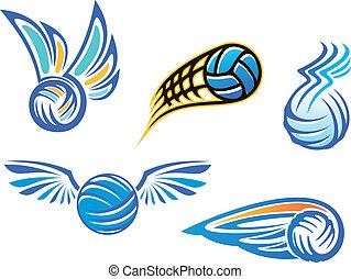 symbolika, emblematy, siatkówka