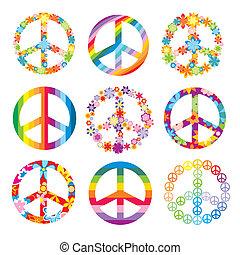symbolika, komplet, pokój