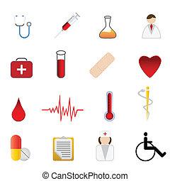 symbolika, medyczne zdrowie, troska