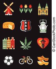 symbolika, podróż, niderlandy