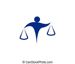 symbolika, prawnik, ludzie, logo, handlowy