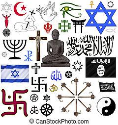 symbolika, religijny, -, odizolowany
