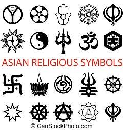 symbolika, religijny, różny