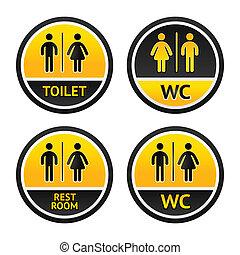 symbolika, toaleta