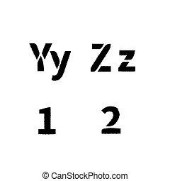 szablon, beletrystyka, realistyczny, chrzcielnica, 1, malować, kiść, łacina, brudny, y, 2, biały, z, struktura