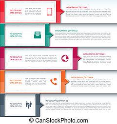 szablon, nowoczesna sprawa, infographics