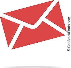 szablon, wektor, ilustracja, logo, 10., koperta, ikona, eps, design.