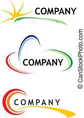 szablony, logo, zbiorowy