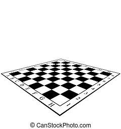 szachowa deska