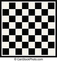 szachy, opróżniać, deska