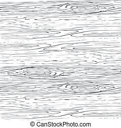 szary, drewniany, drewno, pattern., seamless, struktura, tło., wektor, ziarno