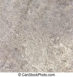szary, kamień, kasownik, trawertyn, struktura, tło