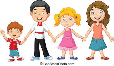 szczęśliwa rodzina, dzierżawa wręcza