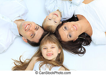 szczęśliwa rodzina