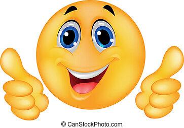 szczęśliwa twarz, smiley, emoticon