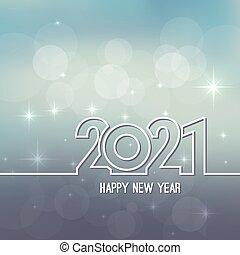 szczęśliwy, rok, nowy