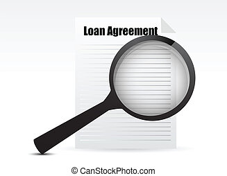 szkło, pożyczka, porozumienie, powiększający