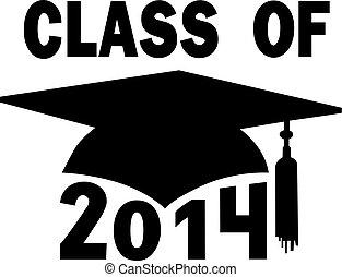 szkoła, korona, skala, wysoki, kolegium, 2014, klasa