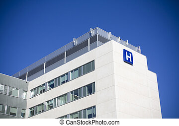 szpital, nowoczesny