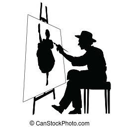 sztaluga, artysta