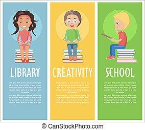 sztubacy, twórczość, czytanie, biblioteka