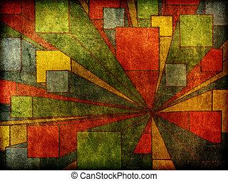sztuka, abstrakcyjny nowoczesny zamiar, tło